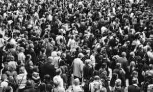 photo for Lead Generation article displaying crowd of people