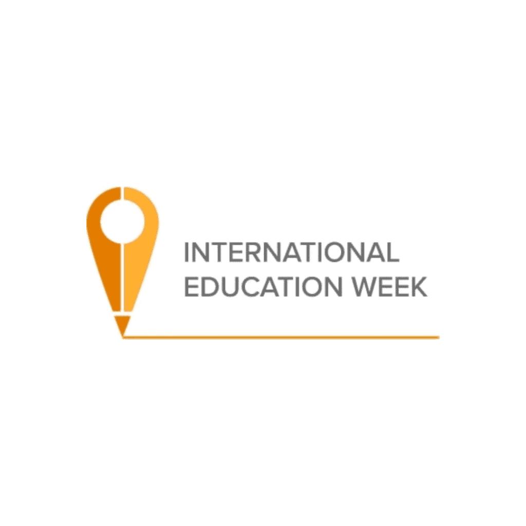 international education week logo case studies