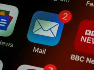 mail notification phone for identifying leads email marketing